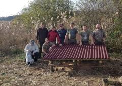 Budowa podsypów dla bażantów - 26.10.2019